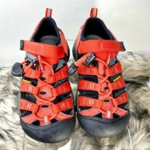 KEEN Red H2 Boys Toddler Youth Water Sandals 11